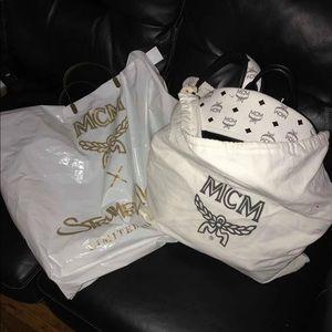 Mcm Backpack and slides can bundle or sep